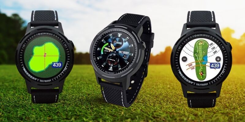 montre gps de golf Golfbuddy w10